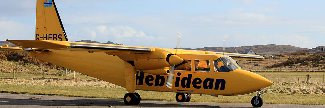 Hebridean Air at Coll Airport