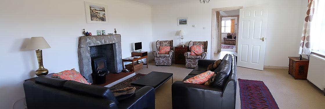 Self Catering Isle of Coll, Lonban lounge