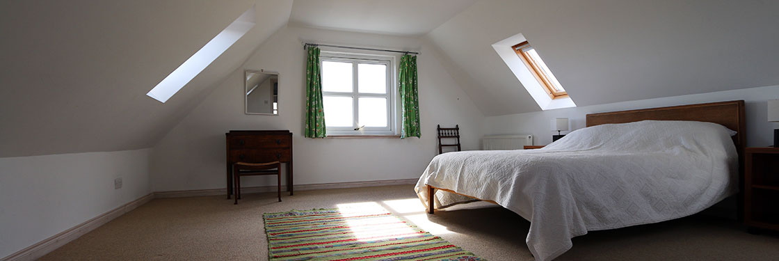 Self Catering Isle of Coll Lonban Bedroom